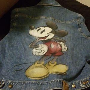 New Disney Jean Jacket
